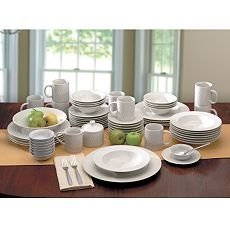 Oneida Wicker 61-pc. Dinnerware Set Basket Weave  sc 1 st  Amazon.com & Amazon.com: Oneida Wicker 61-pc. Dinnerware Set Basket Weave ...