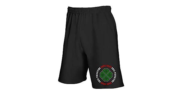 Speed – Pantalón Corto de chándal Negro TM0581 Save Gaza Free ...