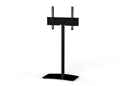 Sonorous PL-2800 Modern TV Floor Stand Mount / Bracket For Sizes up to 60'' (Steel Construction) - Black by SONOROUS