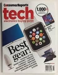 Consumer Reports June 2015 Tech Electronics Buying Guide