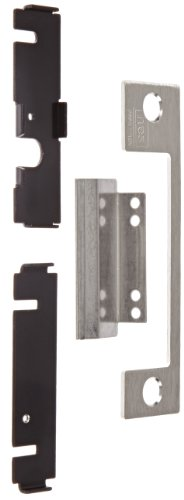 HES Stainless Steel AD Faceplate for 1006 Series Electric Strikes for Sargent and Yale Mortise Locksets with 1