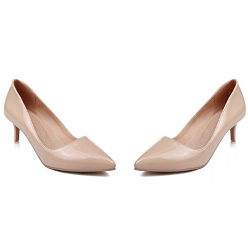 6CM 6 Heels Colors Nude Zapatos Tacon Formal Zanpa Mujer OqPAPz