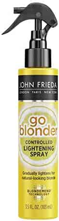 John Frieda Sheer Blonde Go Blonder Lightening Spray, 3.5 Ounce Controlled Hair Lightener with Citrus and Chamomile BlondMend Technology