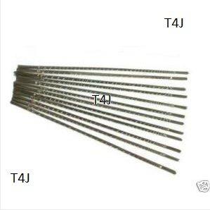 T4J-Lames de scie de bijoutier Lot de 144 Piercing doubles Taille 2//0