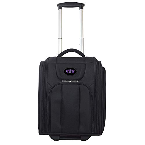 NCAA TCU Horned Frogs Deluxe Wheeled Laptop Overnighter