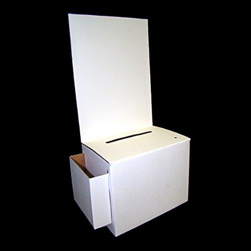 Cardboard Ballot Box with White Removable Header (Carton ...