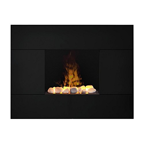 Dimplex TAH20R Tate Opti-Myst Wall-Mounted Fireplace, Black