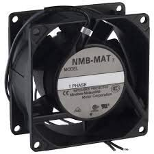 80x38mm Flange Wire NMB TECHNOLOGIES 3115PS-12W-B10-A00 AC Fans AC Axial Fan 19.4CFM 115VAC
