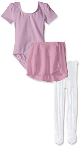 (Danskin Little Girls' Dance Ballerina Starter Kit, Lavender Combo, Toddler)