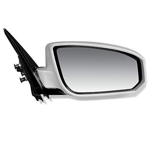 DNA MOTORING OEM-MR-NI1321161 Factory Style Powered+Heated Right Side Door Mirror