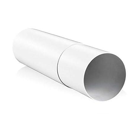 /150/mm de diam/ètre x 350/mm de long Blauberg UK 15,2/cm 150/mm Conduit rond Plastique et fixations pour extracteur dair Ventilation/