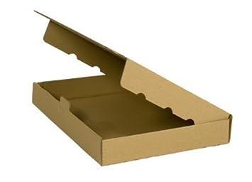 100 MAXI CAJA DE ENVÍO 350 x 250 X 50mm DIN A4 B4, embalaje ENVÍO Caja de cartón ondulado cartón Caja de cartón de Carta: Amazon.es: Oficina y papelería