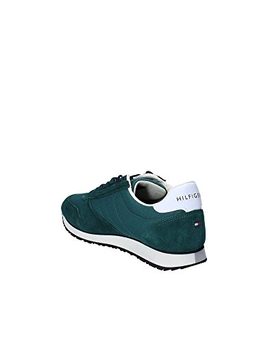 New Sneakers Iconic Tommy Homme Green Hilfiger 4n0wAx1H