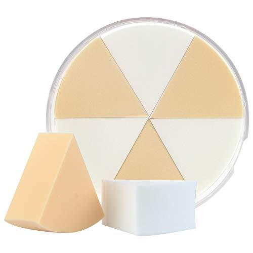 NBSail Makeup Sponges Wedge,Beauty Blending for Liquid Creams and Powders,6 PCS