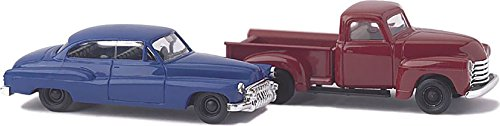 Busch 8320 Chevy Pick-Up/Buick 1950's Set of 2 N Scale for sale  Delivered anywhere in USA