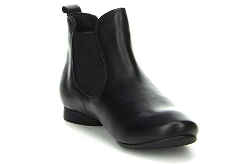 Black Women's Classic 9 Cold 5 Length Boots Lined Chelsea Boot Size Guad Short Think vHwYdw