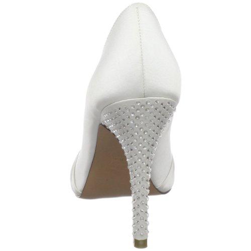 Brianna Leigh Mujeres Isabella Platform Pump White