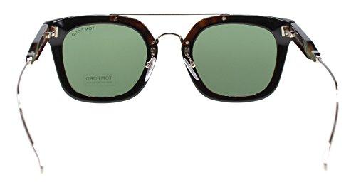 Lunettes de soleil Tom Ford Alex-02 FT0541 C51 05N (black/other / green)