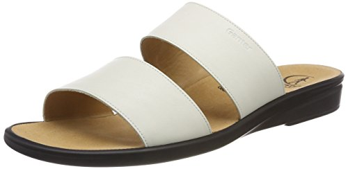 e White Sonnica Women's Mules weiss 0200 Ganter wE5dqE