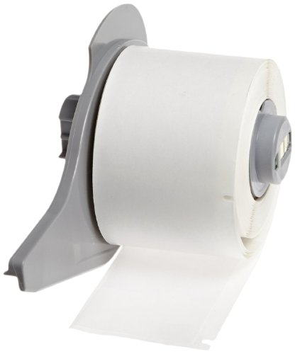 Brady M71-10-427 Self-Laminating Vinyl BMP71 Labels , White/Translucent (750 Labels per Roll, 1 Roll per Package) by Brady