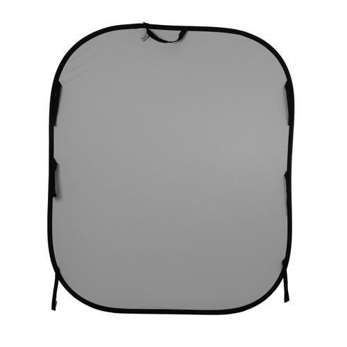 Lastolite LL LB56GW Reversible 5-Feetx6-Feet Plain Collapsible Background (White /Mid Gray) by Lastolite