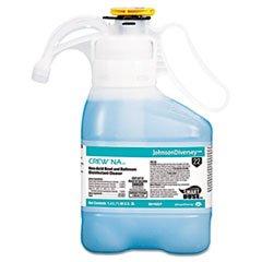 ** Crew Non-Acid Bowl & Bathroom Disinfectant Cleaner, Floral, 47.3oz, 2/Carton