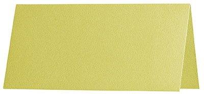 100 Stück    Artoz Serie 1001 große premium Tischkarten, gerippt    DIN A7, 131 x 103 mm, hochwertig, gelb B002HHMMW8   Outlet Online
