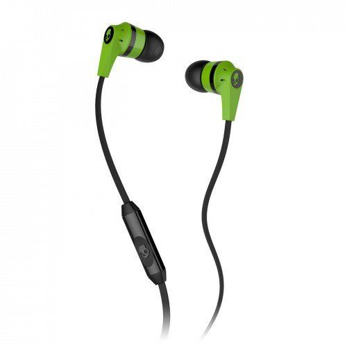 Skullcandy Ink'd 2.0 In-Ear Headphones with Mic - Lime Green/Black