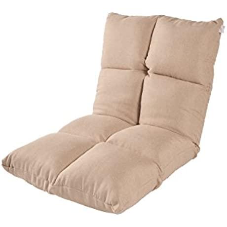 E Joy Floor Chair Home Essential Lovers Folding Sofa A Lazy Man Sofa Normal Version Beige
