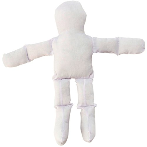 Craft Doll Clothes - Darice MD05N Muslin Doll Natural 12In