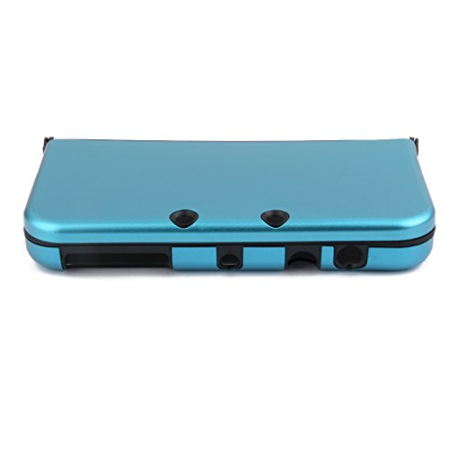 Aluminium Metall Haut Case Schutzhülle Für New Nintendo 3DS XL Himmelblau