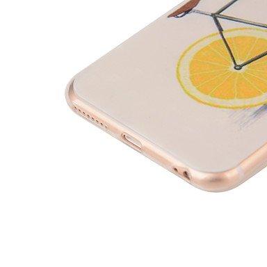 Fundas y estuches para teléfonos móviles, TPU suave cubierta de la caja del estilo transparente para iPhone 7 7 más 6s 6 más ( Modelos Compatibles : IPhone SE/5s/5 ) IPhone X