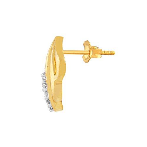Giantti 14carats Diamant pour femme Boucles d'oreille à tige (0.168CT, VS/Si-clarity, Gh-colour)