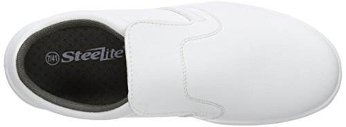 Portwest FW81 - Slip-On de seguridad S2 Zapato, color Blanco, talla 37 Blanco