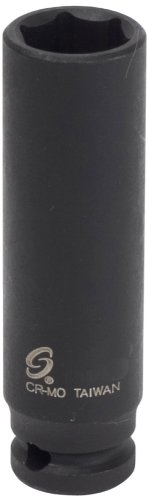 Sunex 810MDMG 1/4-Inch Drive 10-Mm Deep Magnetic Impact Socket by Sunex Tools