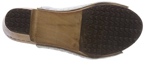 Woody Women's Elly Clogs White (Dana Bianco 036) 3GEsuUd2S