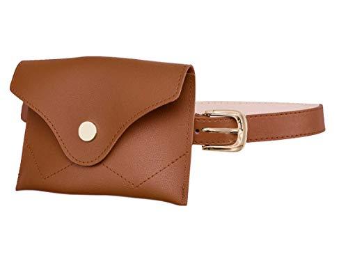 TeeYee Women Girls Removable Belt with Mini Purse Fanny pack