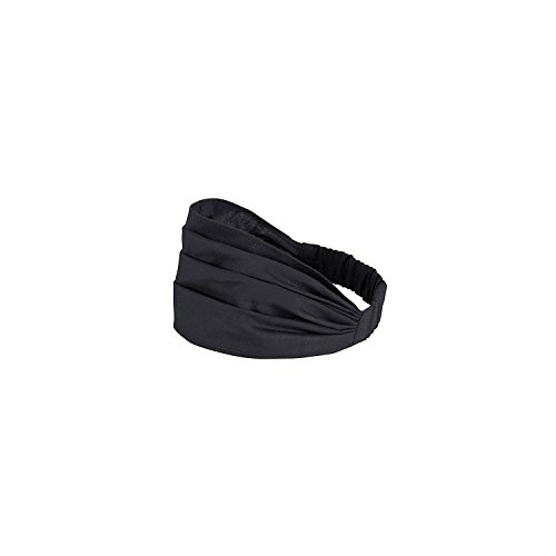 (Chefwear Convertible Chefband Chef Hat - 100% Cotton Chef & Bakers Hat, Black)