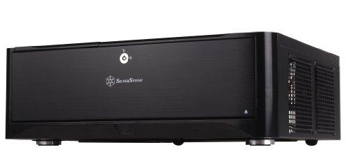 Silverstone GD06B PC-Gehäuse mATX schwarz