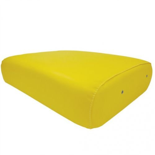 All States Ag Parts Seat Cushion Wood Backed Vinyl Yellow 19-1/2'' x 14-3/4'' John Deere 60 840 520 D 630 70 830 G B 80 820 A 720 R 530 50 730 620 AF3268R by All States Ag Parts