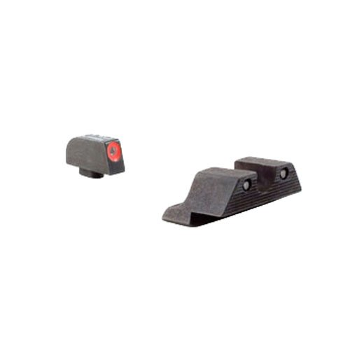 Trijicon HD Night Sight Set with Orange Front Outline for the Glock ()