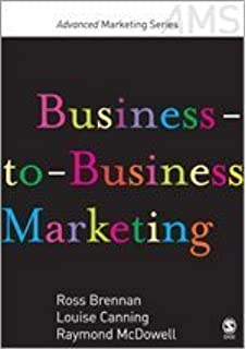 Business To Business Marketing Brennan Pdf