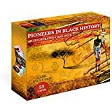 Revisa African American History  Stories. Pioneers in Black History. Flashcard and Game for kids.Multicolor Flash Cards
