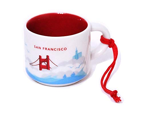 Starbucks San Francisco You Are Here Collection Holiday Ornament