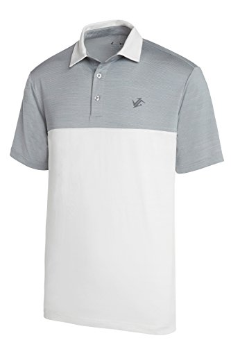 26a24a0c Galleon - Jolt Gear Dri-Fit Golf Shirts For Men - Moisture Wicking Short-Sleeve  Polo Shirt