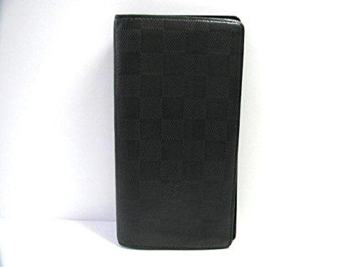 ルイ・ヴィトン ダミエアンフィニ ポルトフォイユ・ブラザ長財布 N63010