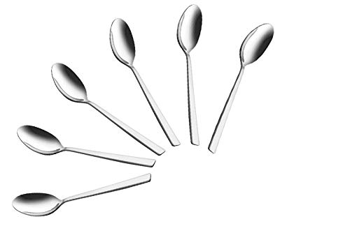 Shapes Captain Stainless Steel Table Spoon, Set of 6pcs  Length : 20cm