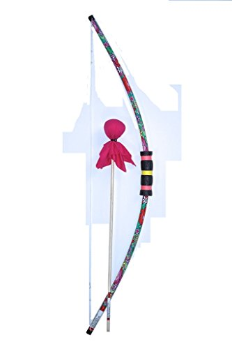 Two Bros Bows Flower Bow with Pink Arrow Archery Toy Set