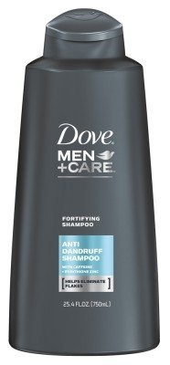 Dove Shampoo Anti-Dandruff 25.4oz Mens Fortifying