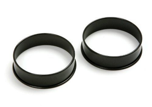 Norpro 666 Nonstick Egg Rings, Set of 2, One Size, Multicolor ()